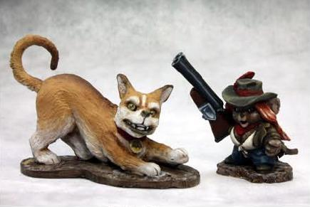 Chronoscope: Angela and Scooter, Mousling Cowgirl and Trusty Hound
