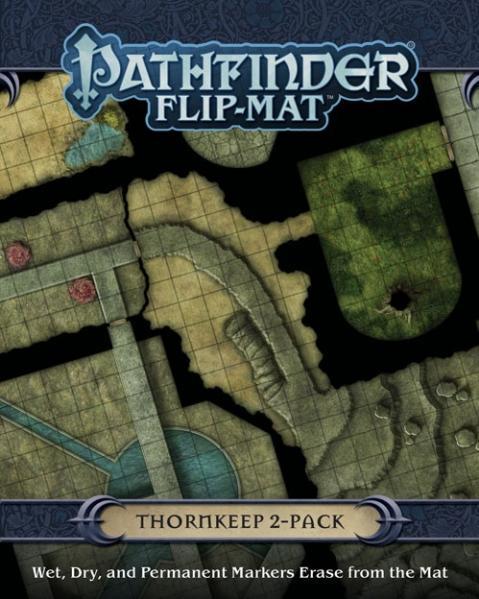 Pathfinder RPG: (Flip-Mat) Thornkeep Dungeons