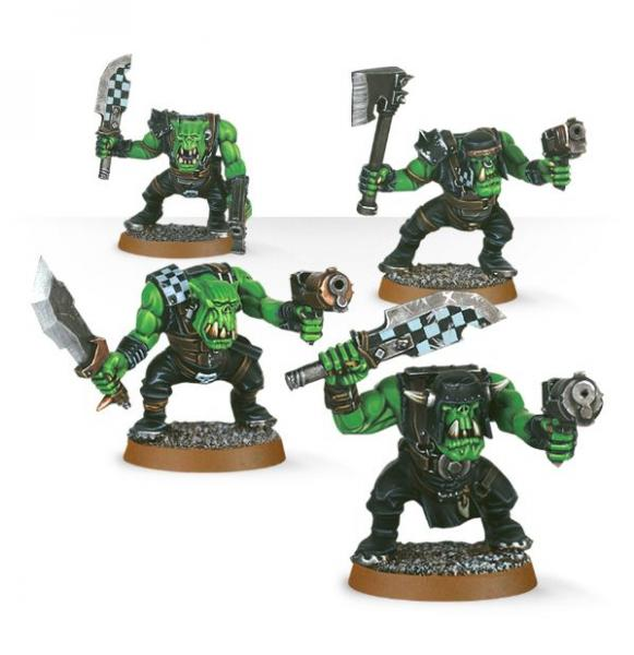 Warhammer 40K: Ork Boyz (Easy to Build)