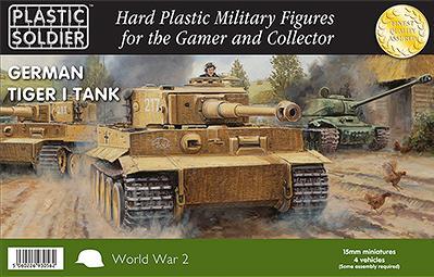 15mm WWII (German): Tiger I