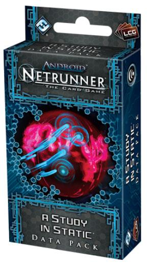 Android Netrunner LCG: A Study in Static Data Pack