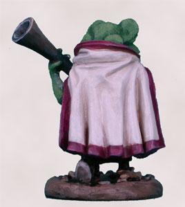 Critter Kingdoms: Frog Guard w/Blunderbuss