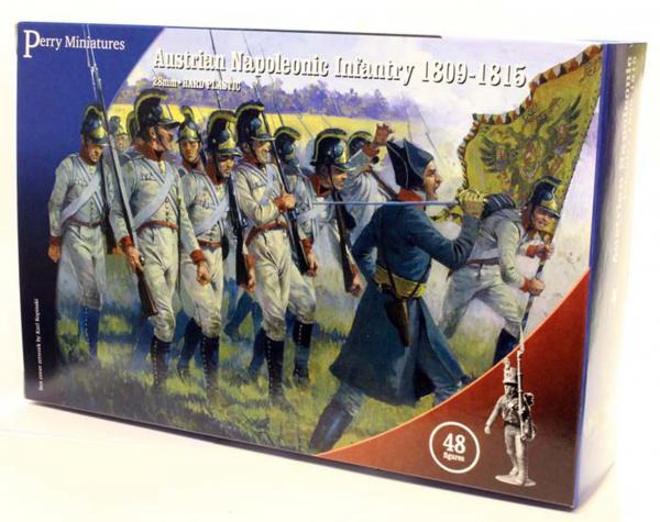 28mm Napoleonic: (Austrian) Infantry, 1809-1815 (48)