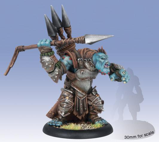 (Trollbloods) Troll Impaler Light Warbeast