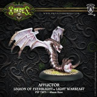 (Legion Of Everblight) Afflictor Light Warbeast