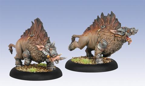 (Minions) Razor Boars Farrow Lesser Warbeasts
