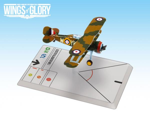 Wings Of Glory WWII Series III Miniatures: Gloster Gladiator MK.I (Pattle)