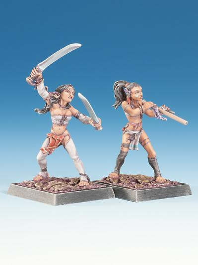 Freebooter Miniatures: Chicomeh and Matqueh #2