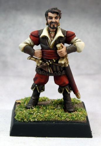 Pathfinder Miniatures: Sandru Vhiski