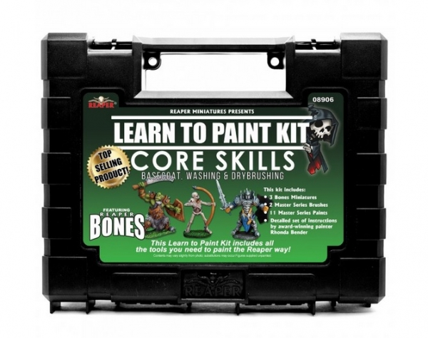 Bare Bones Learn To Paint Kit: (Basic Techniques) Base Coats, Washing & Drybrushing