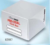 Ultra Pro: Dual Deck Box White