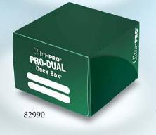 Ultra Pro: Dual Deck Box -Green