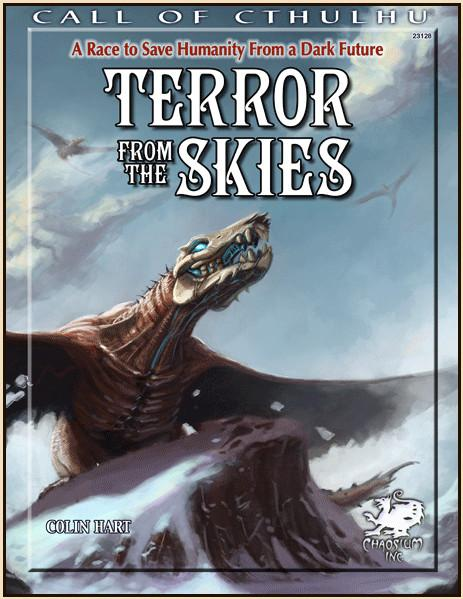 Call of Cthulhu RPG Terror from the Skies.