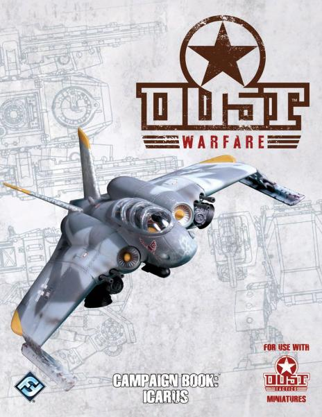 Dust Warfare: Campaign Book Icarus