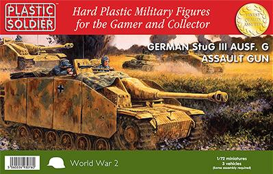 20mm WWII: Stug lll G Assault Gun (3)