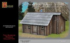 1/72mm Russian 2-Story Log House