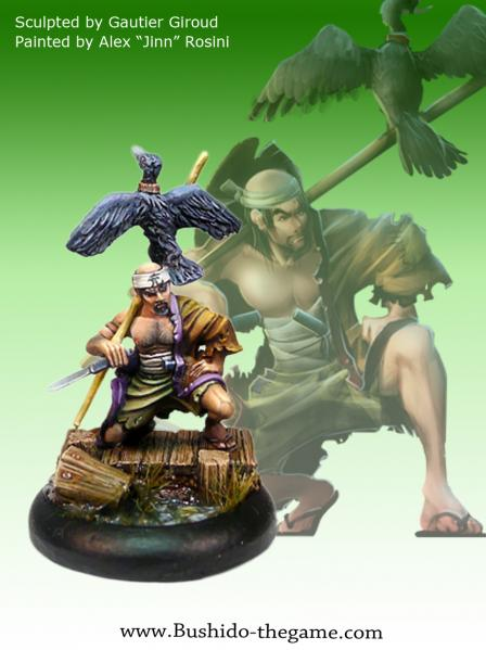 Bushido Miniatures: (Temple Of Ro-Kan) Kintaru, Fisherman