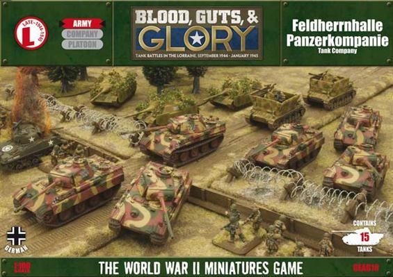 Flames of War - German: FHH Panzerkompanie