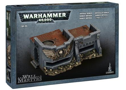Citadel Terrain: Wall of Martyrs - Imperial Bunker
