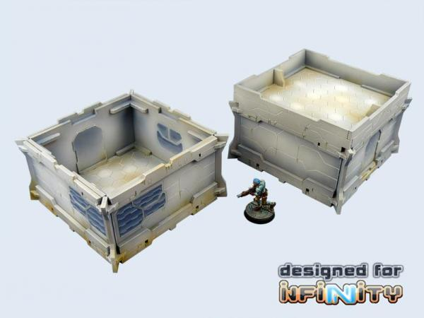 Infinity: Terrain- District 5 Guard House (1)