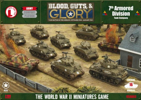Flames of War:  7th Armored Division (USAB03)