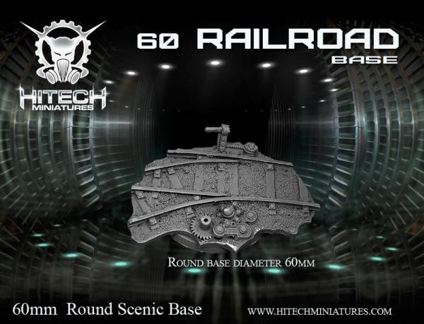 Scenic Bases: 60mm Railroad, Round (1)