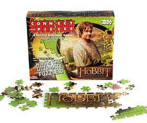 The Hobbit An Unexpected Journey: Connect with Pieces Puzzle Building Game