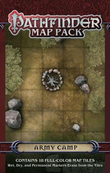GameMastery Map Pack:  Army Camp