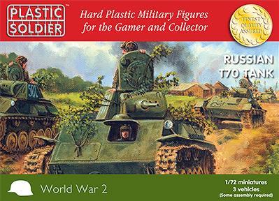 20mm WWII: Russian T70 Tank (3)