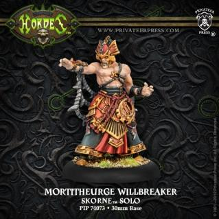 (Skorne) Mortitheurge Willbreaker Solo