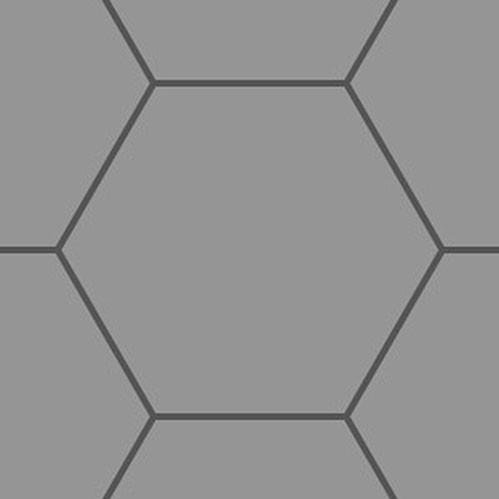 Gaming Paper Gray Roll 1'' Hex