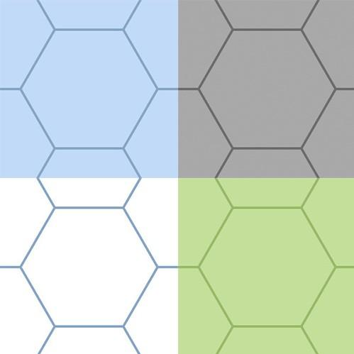 Gaming Paper Singles 'Combo Hex'