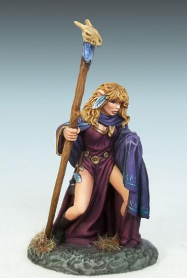 Female Elven Mage w/Staff