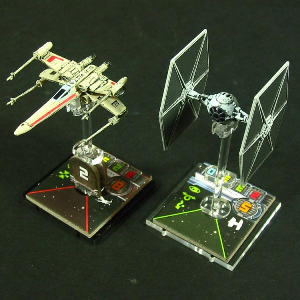 Space Fighter, Deluxe Flight Stand (1)