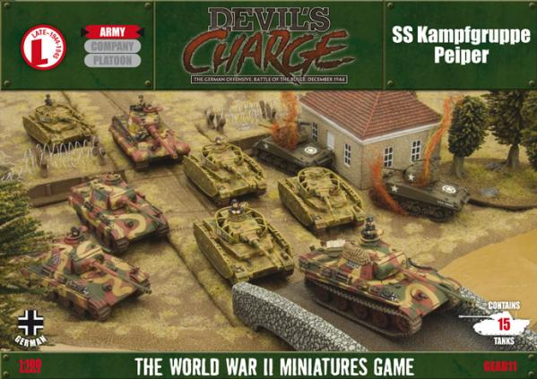 Flames of War - German: SS Kampfgruppe Peiper