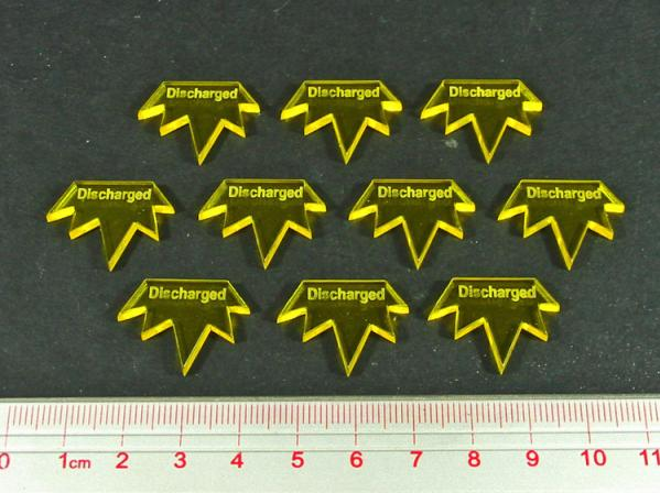 Discharged Tokens (10) (Yellow)