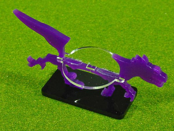 25x20mm Raptor, Character Mount Marker (1) (Purple)