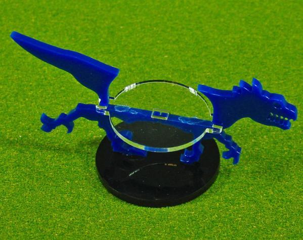 40mm Circle Raptor, Character Mount Marker (1) (Blue)