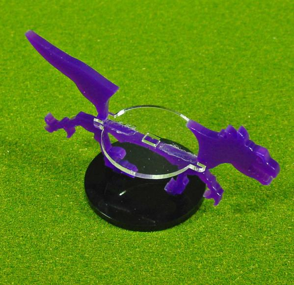 40mm Circle Raptor, Character Mount Marker (1) (Purple)