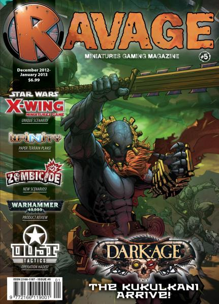 Ravage Magazine #5 (English Edition)