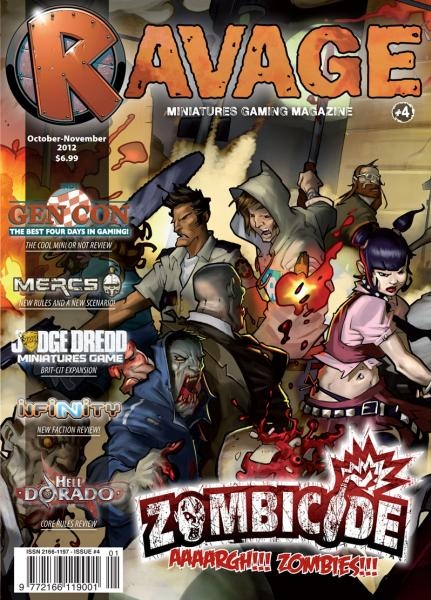 Ravage Magazine #4 (English Edition)