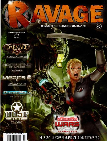 Ravage Magazine #6 (English Edition)