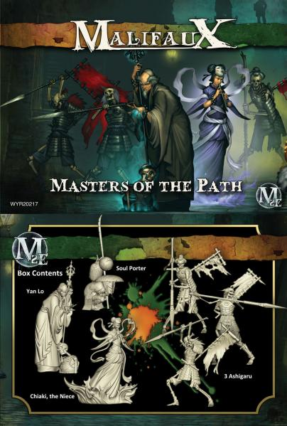 Malifaux: (The Resurrectionists) Masters Of The Path