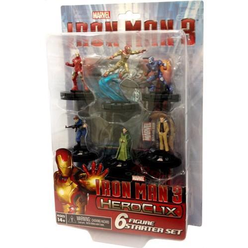 Marvel Heroclix: Iron Man 3 Movie Starter Set