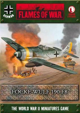 Flames Of War (WWII): (German) FW 190 F8