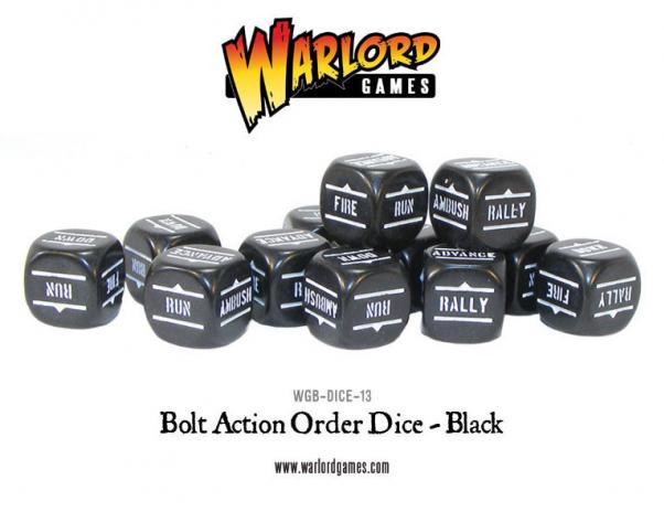 Orders Dice (Black)