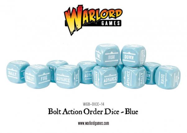 Orders Dice (Blue)