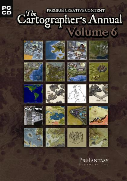 Campaign Cartographer: The Cartographer's Annual Vol. VI (DVD case, Add-On to CC3)