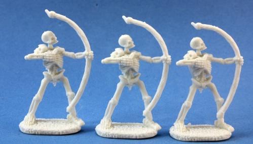 Dark Heaven Bones: Skeletal Archers (3)