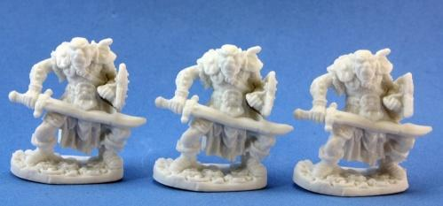 Dark Heaven Bones: Orc Swordsmen (3)
